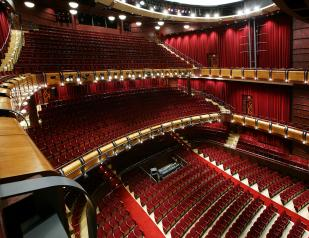 Seating from 2nd balcony
